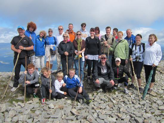 Hotel Westport: on the summit of Croagh Patrick