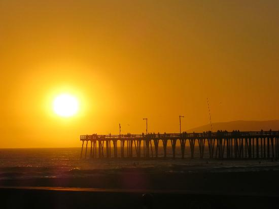 SeaVenture Beach Hotel: Beautiful Pismo Sunset