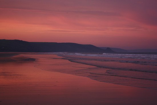 Newgale sunset
