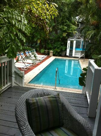 Ambrosia Key West Tropical Lodging: One of the 3 pool