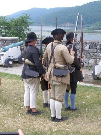 Fort Ticonderoga: Military unit