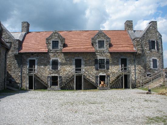 Fort Ticonderoga: Soldiers' quarters