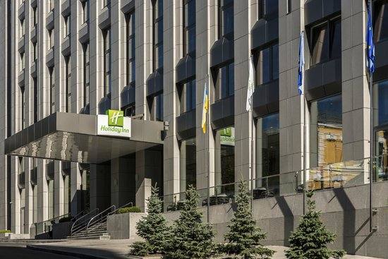 Holiday Inn Kiev Entrance
