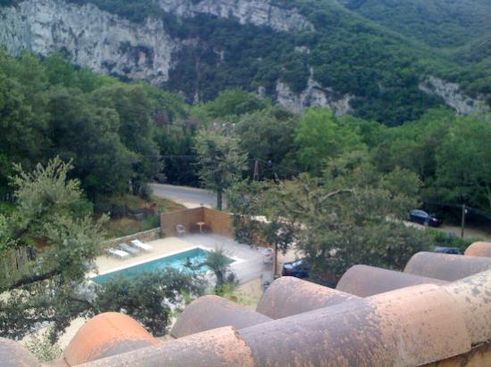 Hotel Le Belvedere: Vue de la terrasse de la chambre