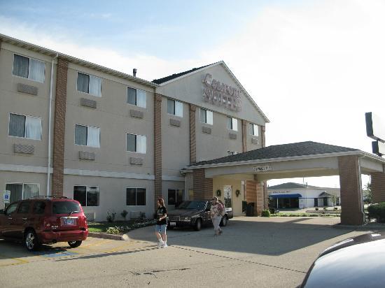 Comfort Suites Bloomington Normal: vue générale