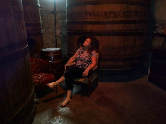 Catacombs at Bube's Brewery: Barrels