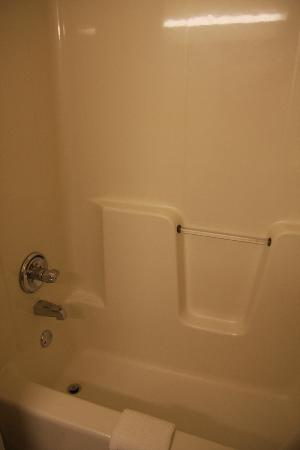 Comfort Suites: la douche 