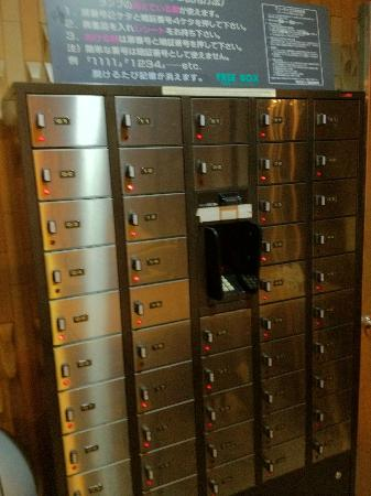 Juyoh Hotel: Safe deposit box