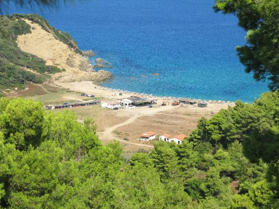 Villa Angela: La plage de Megalo Aselinos