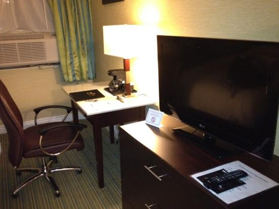 Ramada Plaza Holtsville Long Island : flat screen tv