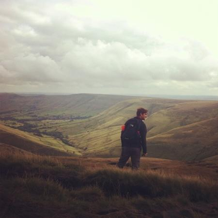 Kinder Scout: view from top