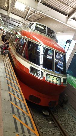 Odakyu Limited Express Romancecar: レトロなLSE