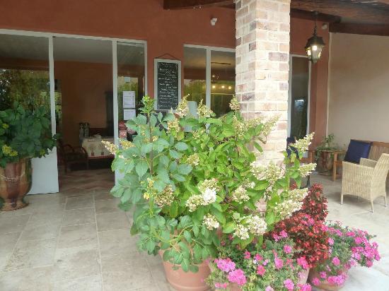 Les Restanques de Moustiers : Ingresso Hotel