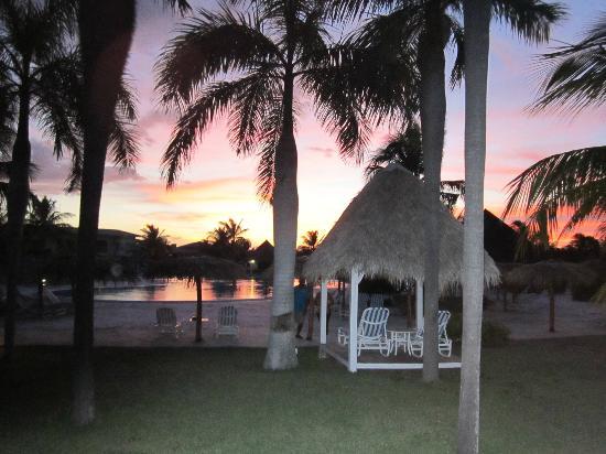 Hotel Playa Costa Verde: coucher de soleil