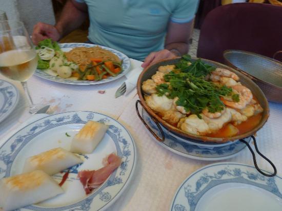 Restaurante Reis: Cataplana de Tamboril