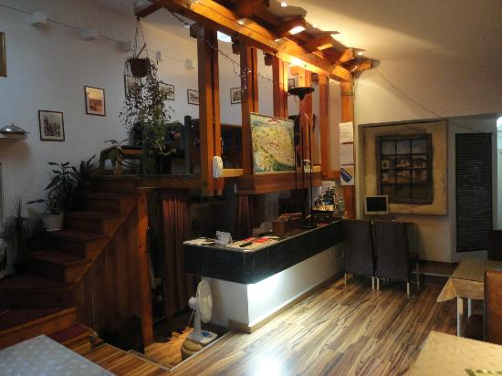 Hotel Yildiz Sarajevo : resepsiyon