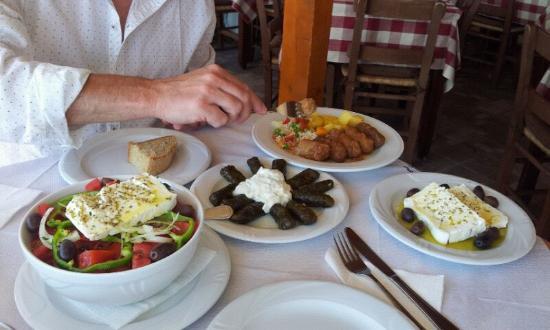 Taverna Panorama: gesundes essen