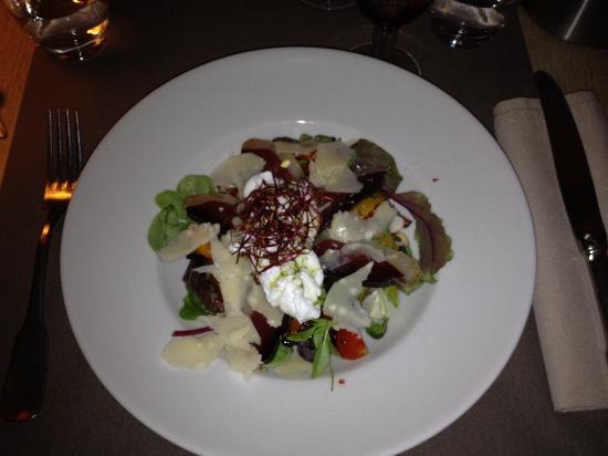 Restaurant Cesar: La salade Cesar de Céline