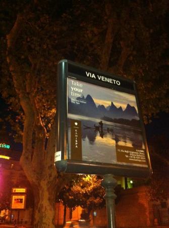 Grand Hotel Via Veneto: via veneto