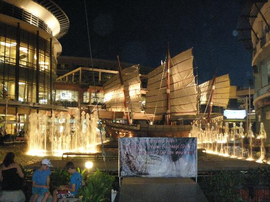 Jungceylon: A replica of an old Chinese/Thai junk