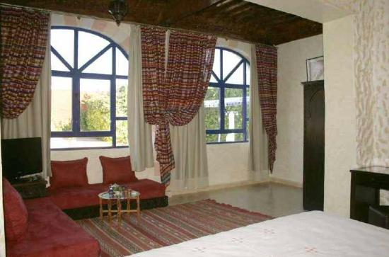 Hotel Riad Villa Damonte: suite vue piscine