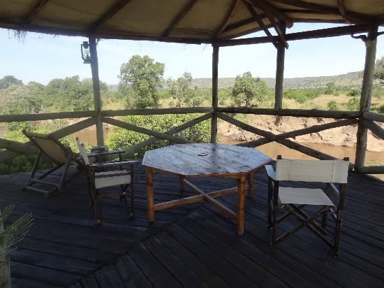 Cheetah Tented Camp: La vue depuis notre suite