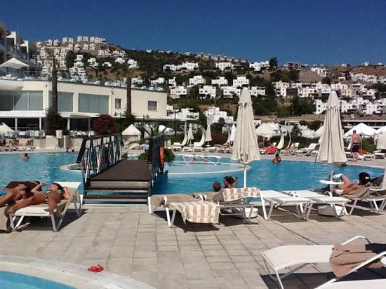 Hotel Baia Bodrum: good pool area and no issue getting beds