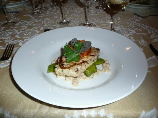 Springbank House: Grilled swordfish