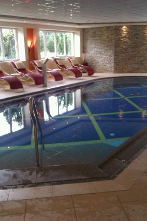Alpenpark Resort: This is the adult only pool in the spa area at the Alpenpark