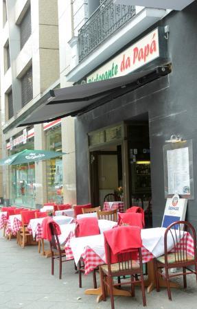 Ristorante DA Papa': the restaurant