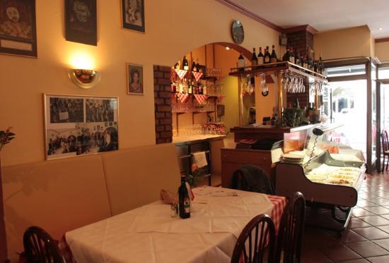 Ristorante DA Papa': the interior