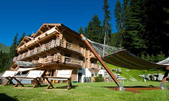 The Lodge Verbier, summer time