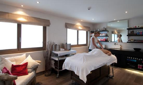The Lodge Verbier, treatment room