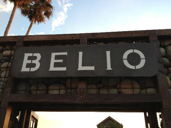 Belio Restaurant: entrance