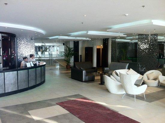 Nandana Boracay: lobby area and front office