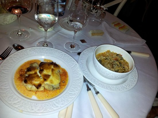 Hotel Real Posada De Liena: Segundos del restaurante