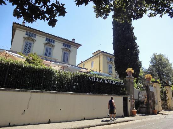 Villa Carlotta Hotel: Fachada