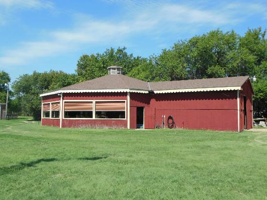 """Heritage Center of Dickinson County : Carousel """"Tent"""" Building"""