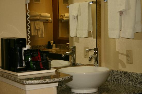 BEST WESTERN Knoxville Suites: Vanity