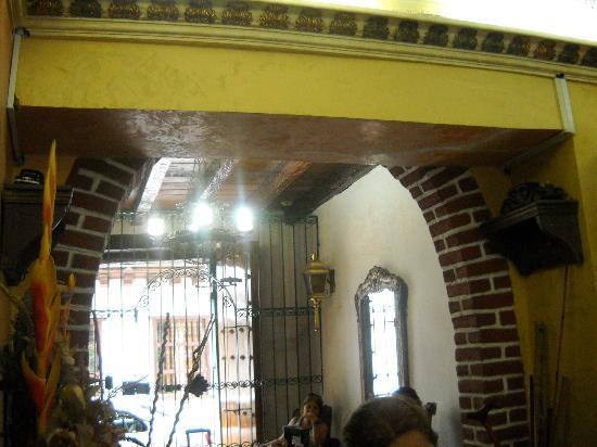 Hostal La Casona de Getsemani: Entrada
