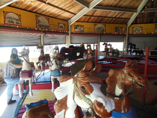 Heritage Center of Dickinson County : 1901 C. W. Parker Carousel