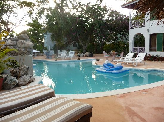 Catcha Falling Star Gardens: Relax in our beautiful pool