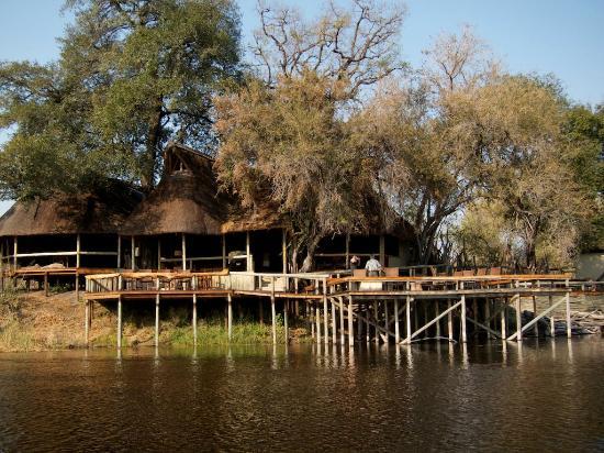Wilderness Safaris Savuti Camp: The Main Lodge