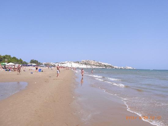 Residence Villa Candida: Strand in Vieste - sehr sauber und ruhig