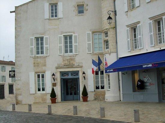 Hotel de Toiras: façade