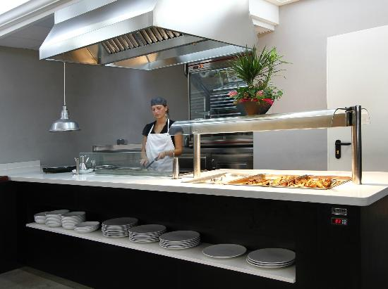 Summer Hotel Calella Barcelona: Show Cooking