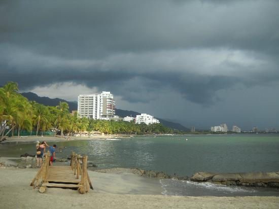 Hotel Los Veleros: Playa cercana