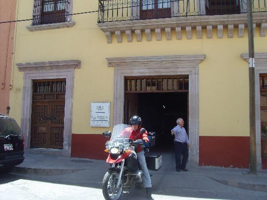 La Finca Del Minero Hotel: en frente del hotel