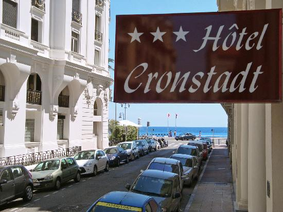 Hotel Cronstadt: We are very close to the see