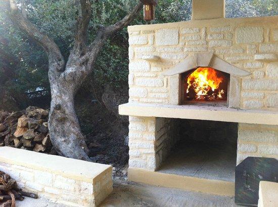 Eleonas: wood oven